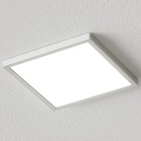 Image of Eckige LED-Deckenleuchte Solvie, silber