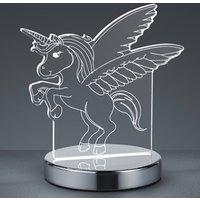Karo 3D hologram table lamp with unicorn motif