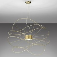 Axolight Hoops 4 LED pendant light  gold