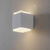 BEGA 50063 LED wall light 3 000 K 9 cm white