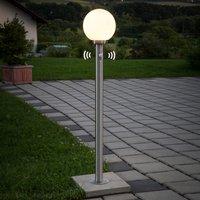 Kugel-Wegelampe Vedran mit Bewegungsmelder