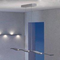 Escale Fluid   curved LED pendant lamp  100 cm