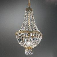 Crystal hanging light CUPOLA