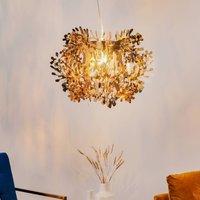 Detailed Fiorella hanging light  gold