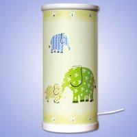 Magical green Elephant LED table lamp
