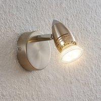 ELC Kalean LED spotlight  nickel  1 bulb