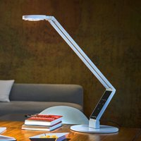 Luctra Table Radial LED table lamp white base