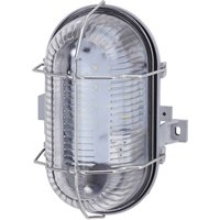 Impact-resistant Pesch 8 LED wall light IP44