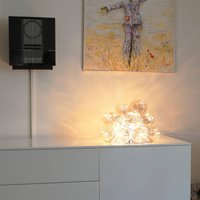 By Ryd ns Gross glass table lamp amber