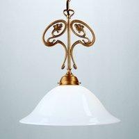 EWALD hanging light made of Berlin brass
