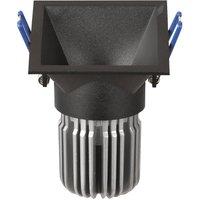 Toodle LED downlight angular asymmetrical  black