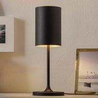 LOUM Pokula LED table lamp black gold