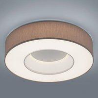 Helestra Lomo   LED ceiling lamp  mocca chintz