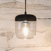 UMAGE Acorn hanging light black steel