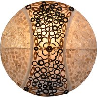 Ornamented Melina wall light