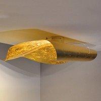 Knikerboker Non So LED ceiling lamp 75 cm gold