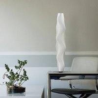Flechtwerk Kaktus LED floor lamp  75 cm  white