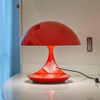 Martinelli Luce Cobra   retro table lamp  white