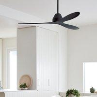 Whitehaven ceiling fan 142 cm black