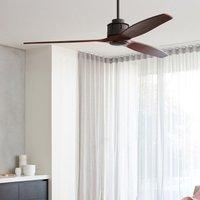 Airfusion Akmani ceiling fan koa bronze