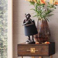 KARE Animal Monkey table lamp brown black