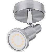 LEDVANCE Niclas LED-Strahler, nickel, 1-flammig