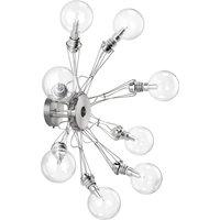 Lumina Matrix Otto wall light 8 bulb  nickel