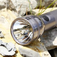 Functional Maglite torch 2 D Cell  titanium