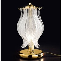 Petali table lamp with Murano glass 31 cm