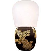Kundalini Hive   ceramic table lamp  black