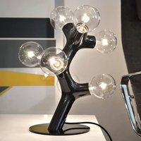 next DNA Table   designer table lamp  black
