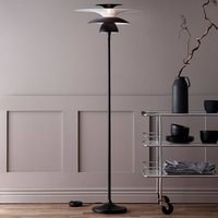 Picasso LED floor lamp  lampshade 38 cm  black
