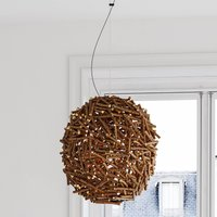 By Ryd ns Cono hanging light made of wood