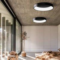 Dilga LED ceiling lamp DALI   60 cm Casambi black