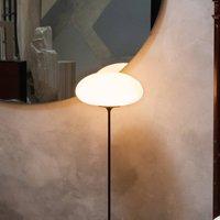 GUBI Stemlite floor lamp  black chrome  150 cm