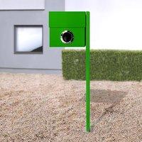 Letterman XXL letterbox  post  green