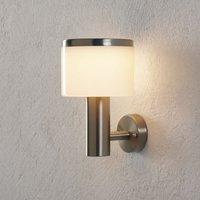LED-Außenwandlampe Cathleen, Edelstahl