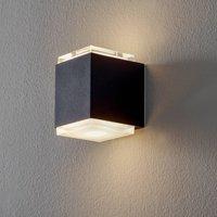 BEGA 50063 LED wall light 3 000 K 9 cm black