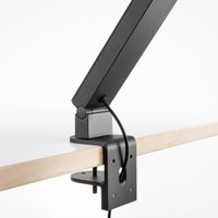 Luctra TableProRadial table lamp clamp black