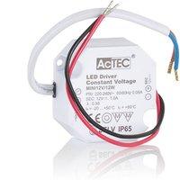 AcTEC Mini LED driver CV 12 V  12 W  IP65