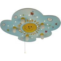 Sunny children s ceiling light with LEDs