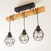 Ceiling light  Townshend 5  with 3 cage shades