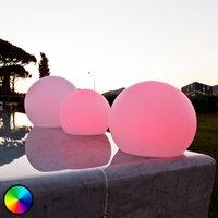 Schwimmfähige LED-Dekorationsleuchte Ball