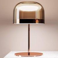 LED table lamp Equatore in copper  60 cm
