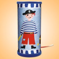 Blue LED table lamp Pirate