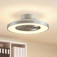 Starluna Orligo LED ceiling fan  silver