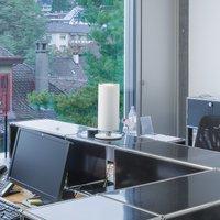Regent Stream Table wide digital 143 W 380 white