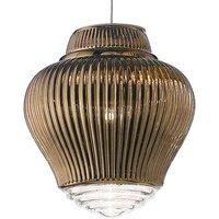 Clyde pendant light 130 cm metallic bronze