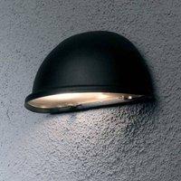 Torino outdoor wall light E14  black