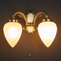 Impery two bulb wall light